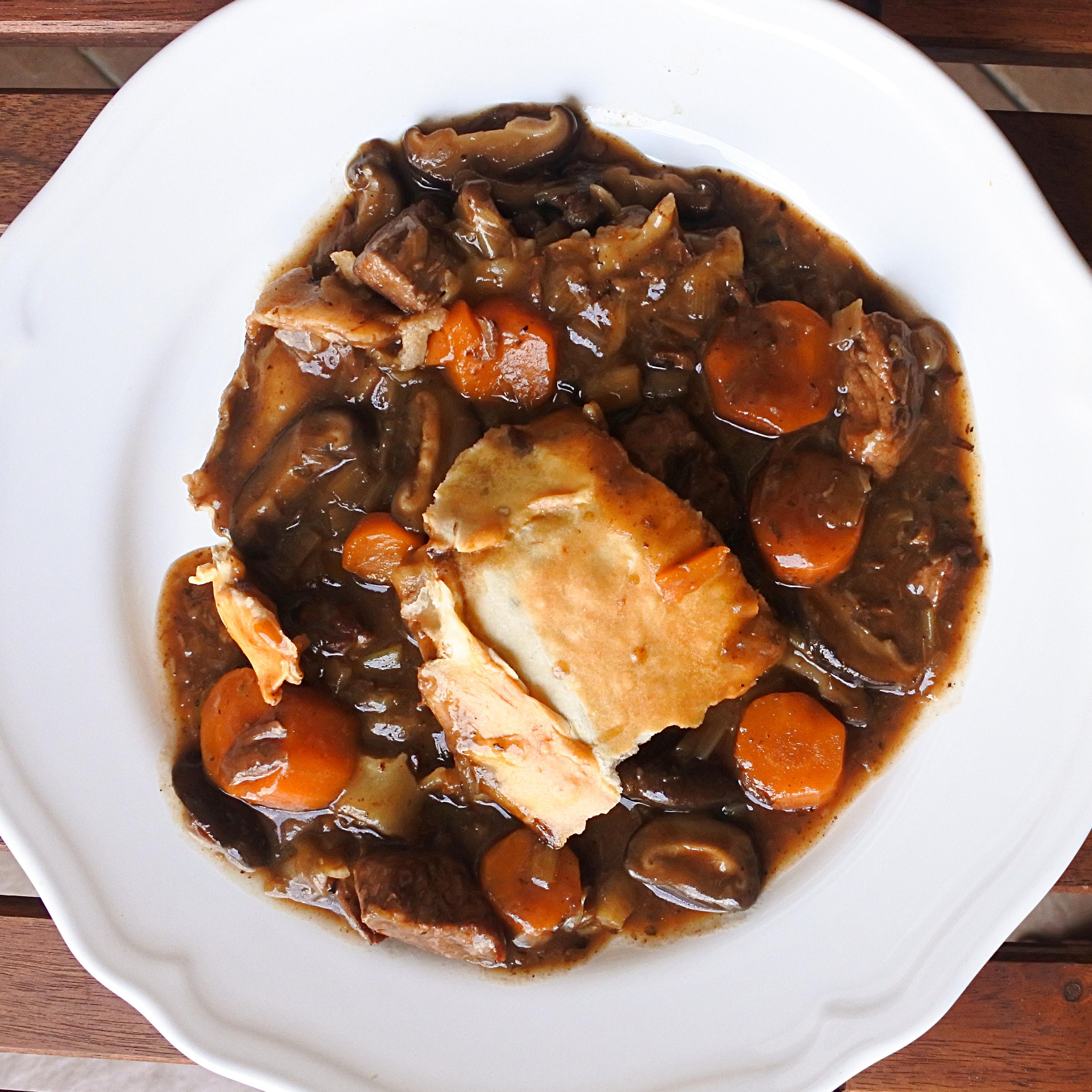 Steak and Ale Pie - Spicepaw
