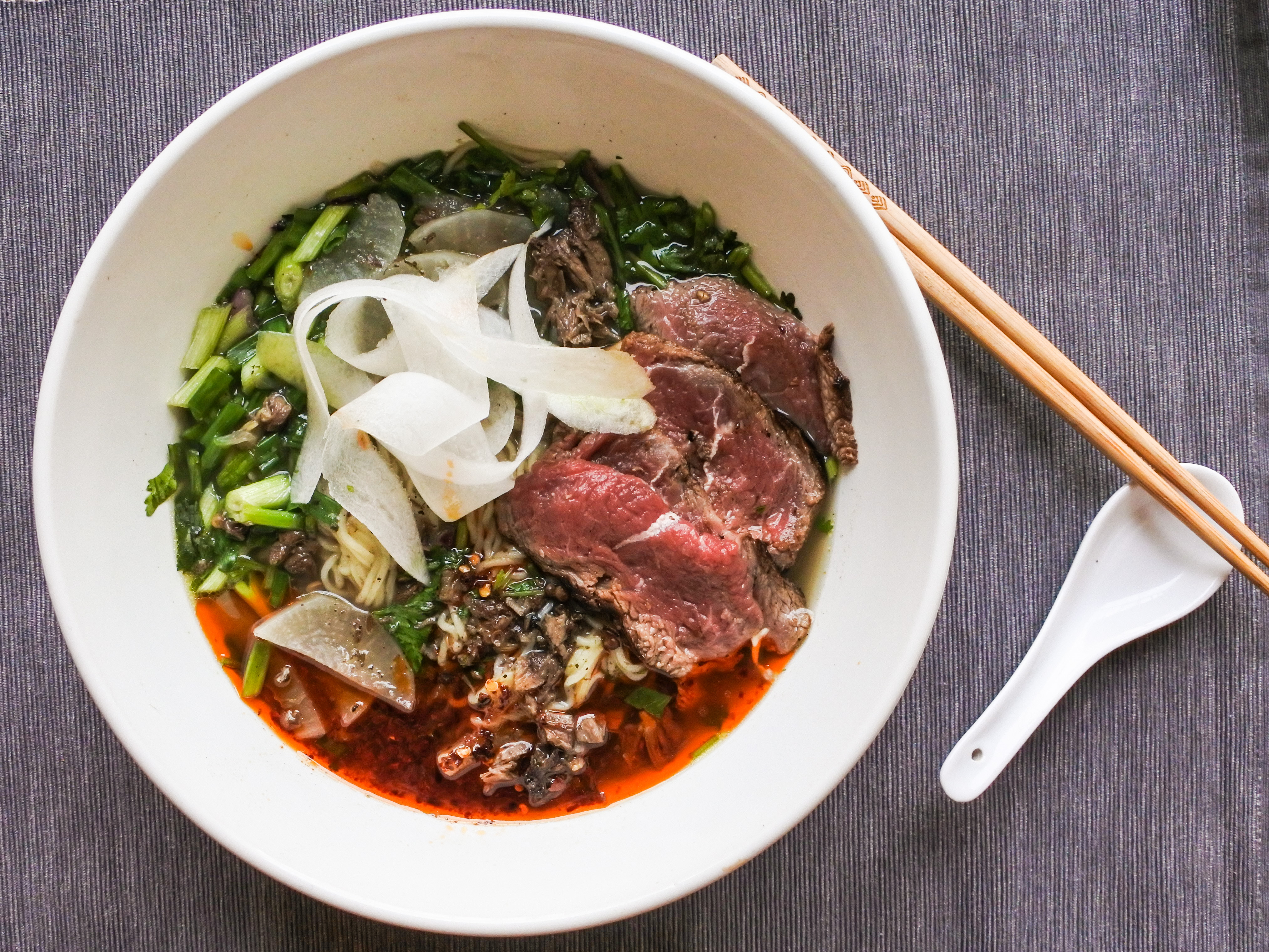 Niurou Lamian (Chinese Beef Noodle Soup)