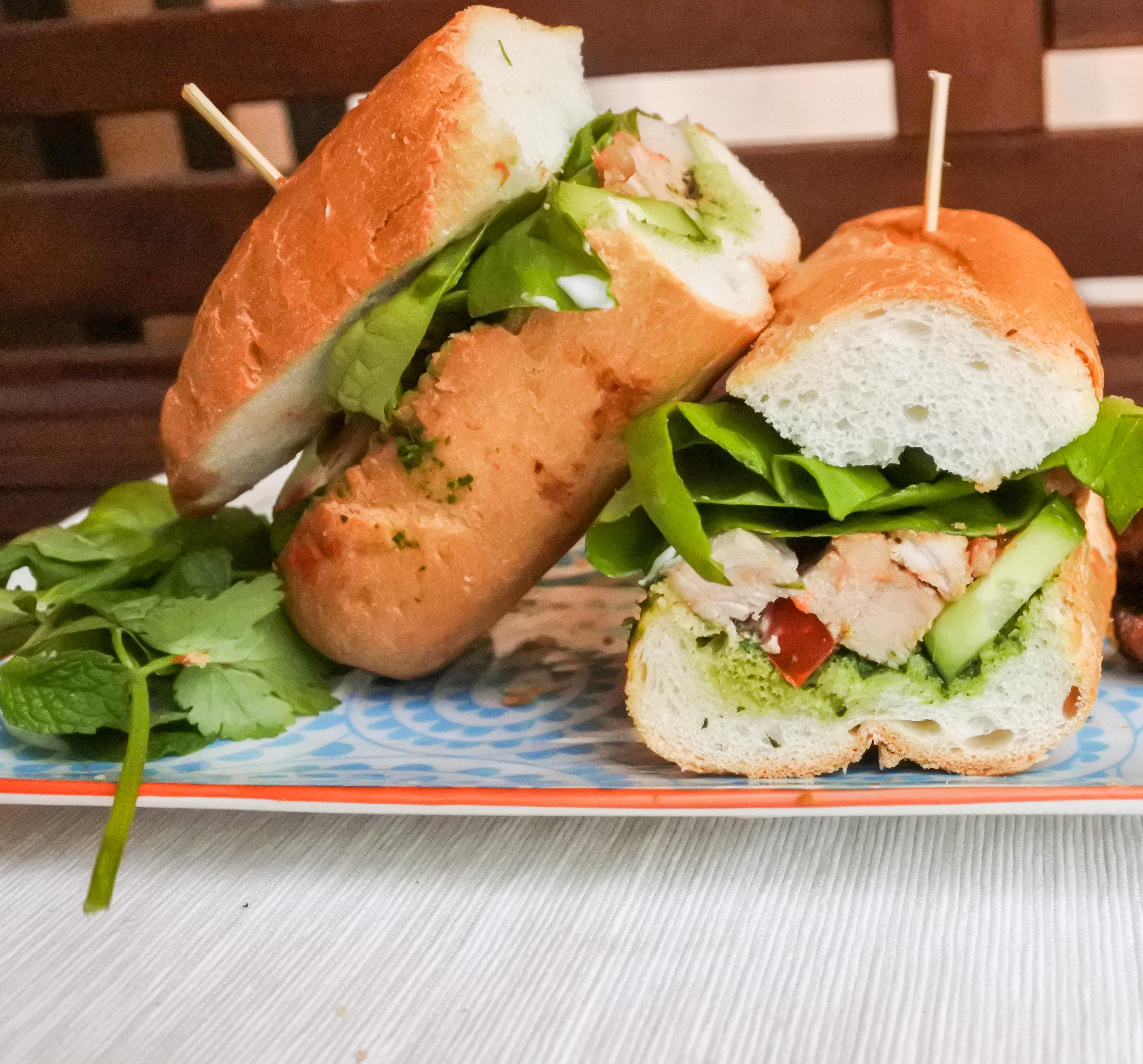 Pork Banh Mi (Vietnamese Pork Sandwich)