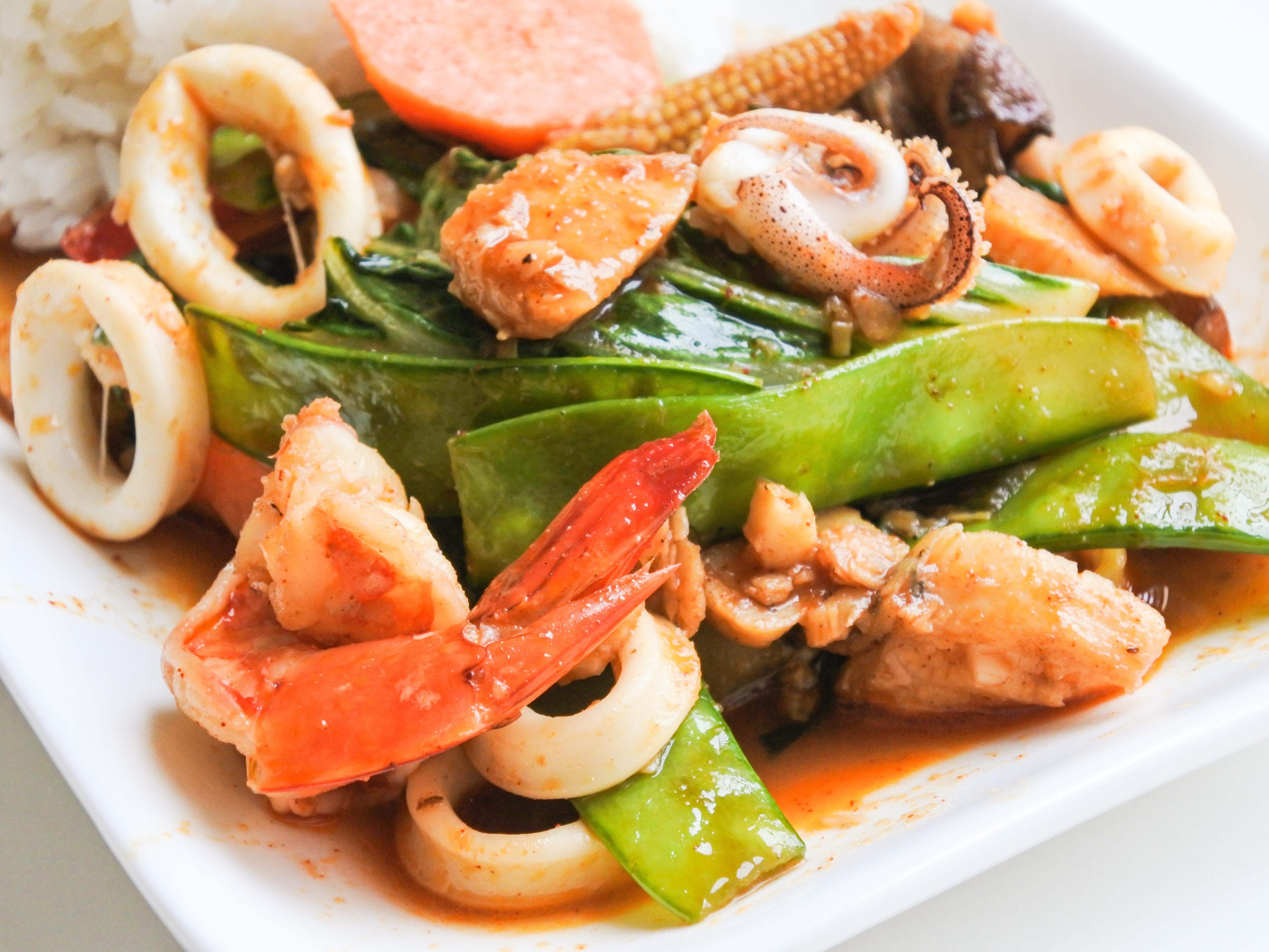 Seafood Nam Prik Pao